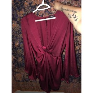 Fashion Nova front knot dress